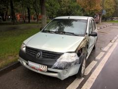 Дорого продать битый Renault в Москве