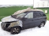 Kia-Sportage-II - сгоревший