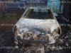 Opel-Astra - сгоревший